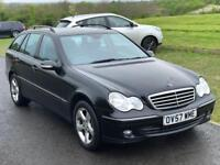 Automatic Mercedes C180 kompressor Avantgarde SE,F,Service History,leather seats,Mot