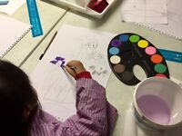 Primary Art Classes at St Margarets House, Edinburgh