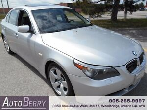 2007 BMW 5 Series 525i ** CERT & E-TEST ACCIDENT FREE ** $8,999