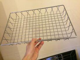 Metal basket decoration