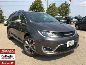 2017 Chrysler Pacifica *LTD*SAFETY TEC*DUAL H/REST MOUNTED DVDS*