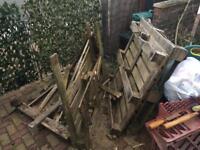 Pallets/fire wood