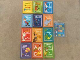 Children's books. 12 Dr.Seuss books in a bag