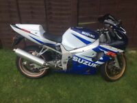 Suzuki GSXR K3, 14000 Miles, 4 Previous Owners, HPI clear, Logbook Present, Not Yzf, Cbr, Zxr