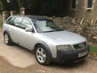 Audi A6 Allroad 2.5 TDi Estate Cambelted MOTed 2004