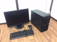 """Complete Gaming Computer PC Setup with 22"""" Monitor and Games (i5, GTX 660 Ti, 8GB)"""