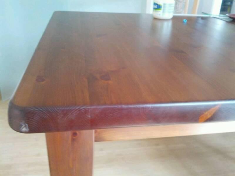 Tisch esszimmer kulissentisch esstisch echtholz bis 3 4m for Esszimmertisch echtholz