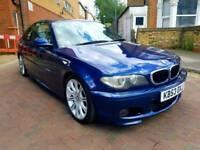 BMW 320CD M SPORT 2004 BLUE