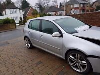 Golf gtd 170 bhp 4 motion light damage unrecorded