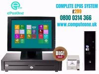 ePOS System, Complete system, no hidden fees, fee delivery and set up