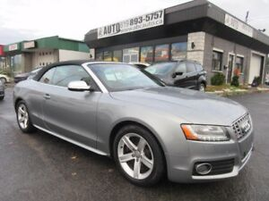 2010 Audi S5 S5 Premium (Convertible, Navigation, Camera, Low Km