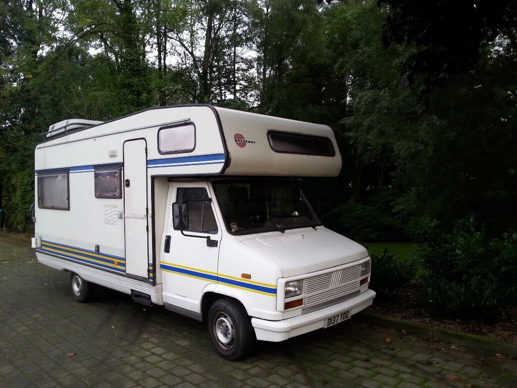 fiat ducato burstner lhd diesel 1987 eco van motorhome. Black Bedroom Furniture Sets. Home Design Ideas