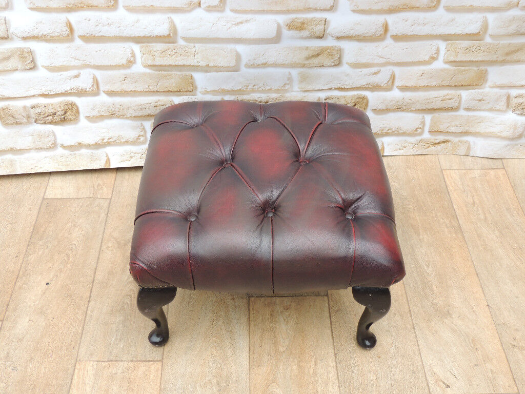 Chesterfield Footstool (Delivery)