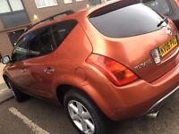 Nissan Murano 3.5 V6 CVT 5dr,LEATHER,SAT NAV , SUV, New Tyers , Parking camera , 3Keys
