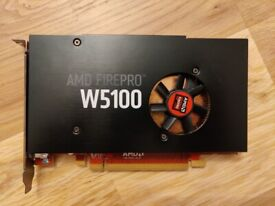 AMD FIREPRO W5100 4GB GDDR5 graphics card