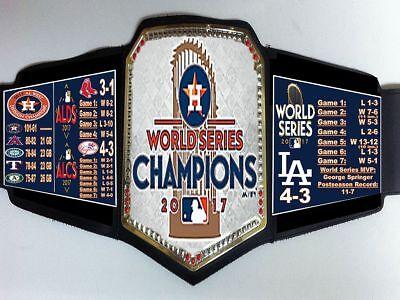 Houston Astros 2017 Mlb World Series Champions Championship Belt