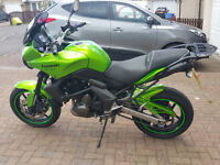 Kawasaki Versys. Lots of extras. Excellent bike