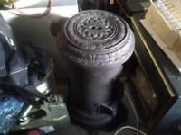 Round stove