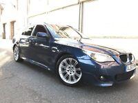 BMW 5 SERIES 2007 2.0 520d M Sport Touring 5 door ESTATE, F/S/H, HUGE SPEC, BARGAIN