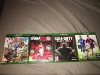 Sunset over drive , nba 2k16,COD BO3, FIFA 15 -------(£40 for all ) ( £15 each)------