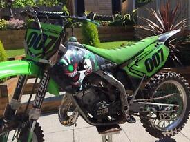 KX 125 ( BIG BORE 144CC ) £1900.00