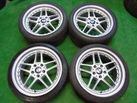 "BMW 3 SERIES AC SCHNITZER STYLE 18"" ALLOY WHEELS"