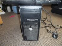 DELL PC TOWER ONLY CORE 2 DUO WINDOWS 7