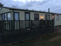 3 bed 8 birth caravan to rent in hutleys site clacton