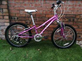 Girls MTB Bicycle Trek MT60 16in weeks 6-10yrs bike Mountain Bike,