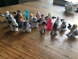 Mini Star Wars figurines