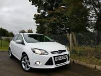 2013 FORD FOCUS ZETEC 1.6 TDCI FROZEN WHITE £0 ROAD TAX FINANCE & WARRANTY AVAILABLE