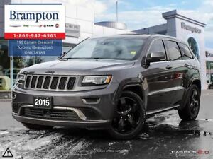 2015 Jeep Grand Cherokee OVERLAND 4X4 | 1 OWNER TRADE-IN | CLEAN