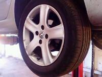 Alloy wheels 4 peugeot 307