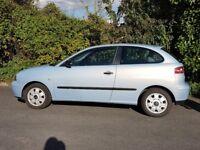 Seat Ibiza 1.2 3dr 2003 Blue £850.00 ONO