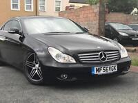 (SALE)2006( 56 ) MERCEDES CLS 320 CDi AUTO 2987cc DIESEL 5 DOOR BLACK WITH SERVICE HISTORY* 2 KEYS *