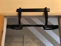 Pull up bars for door frame.