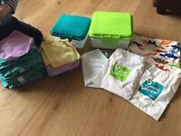 Cheeky wipes, complete set, reusable baby wipes