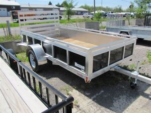 2018 Mission Trailers 6x12 Aluminum Utility Trailer Order Yours