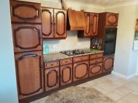 Real wood kitchen for sale.