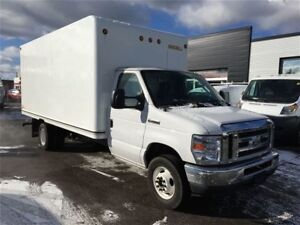 2016 Ford E-350 16'CUBE FIN OR LEASE FROM 4.99%OAC