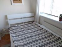 Double Bed Frame IKEA, mint condition