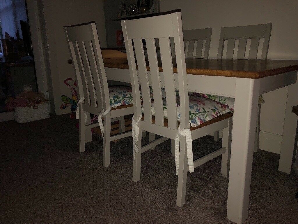 Marks Spencer Padstow Dining Table And 4 Chairs