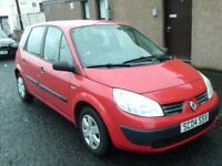 2004 04 RENAULT SCENIC 1.4 AUTHENTIQUE 5DR MPV ** 58000 MILES ** TRADE IN TO CLEAR **