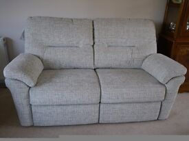 GPlan 2 Seat Sofa and Power Recliner Chair (Brand New)