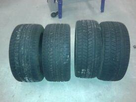"""Winter Tyres x 4 - Diameter 17"""""""
