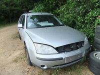 2002 Ford Mondeo TDDi breaking - doors, bonnet, boot, lights, seats, interior, engine, gearbox, etc.
