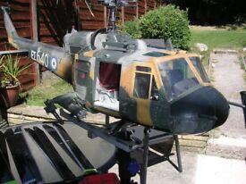 hirobo huey large scale rc helicopter