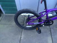 Bmx stunt bike ideal xmas present