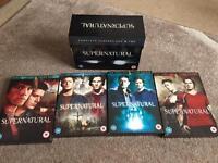 Supernatural DVD Seasons 1-6
