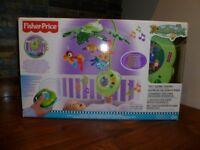 Fisher-Price Rainforest Peek-a-Boo Leaves Musical Mobile - Boxed in Excellent Condition